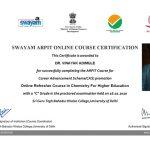 certificate-Swayam