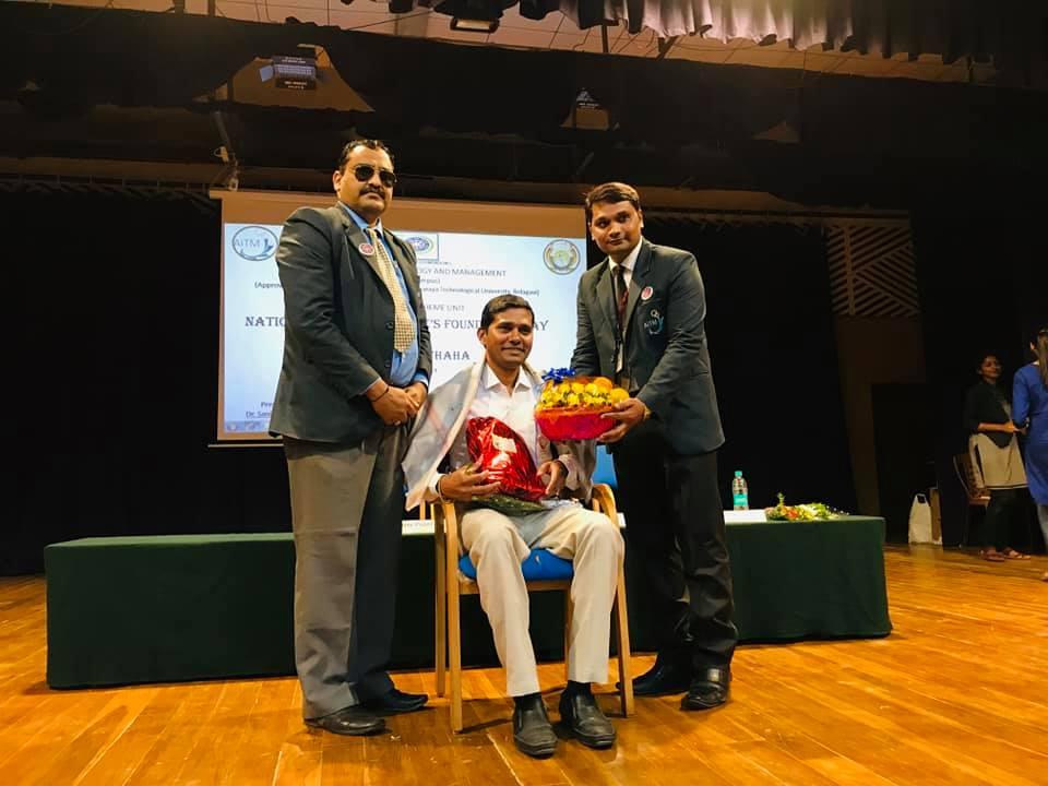 National Service Scheme Foundation day and Seva Saptaha