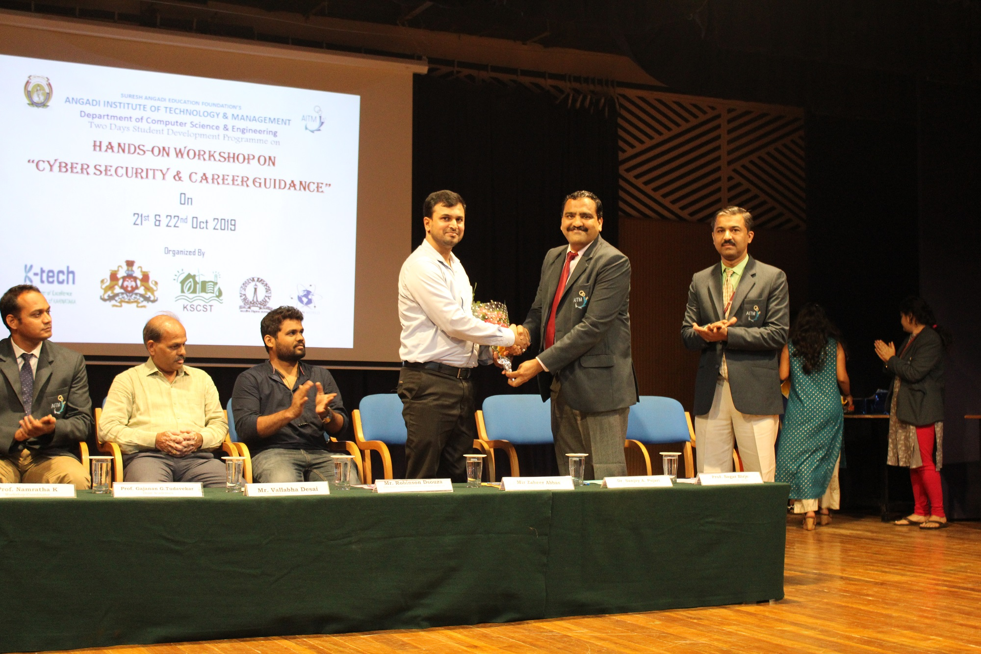 """Inauguration of Two Days Student Development Programme """"Cyber Security"""" and Career Guidance on Cyber Security"""