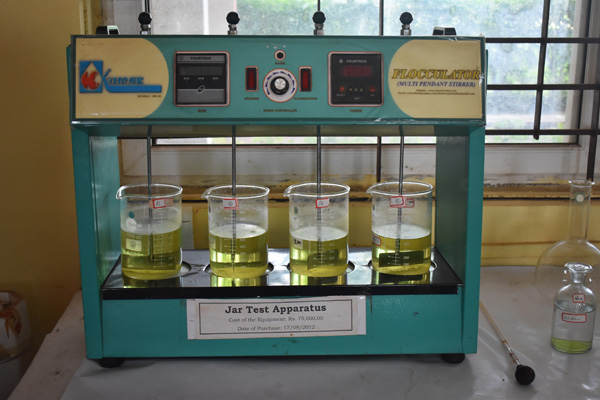 JAR-TEST-APPARATUS